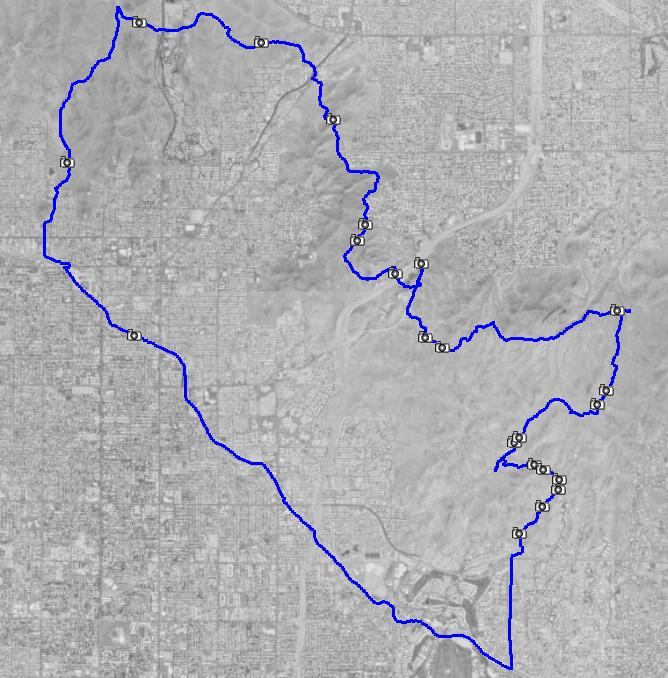 Trail 100 phoenix mountains preserve sciox Choice Image