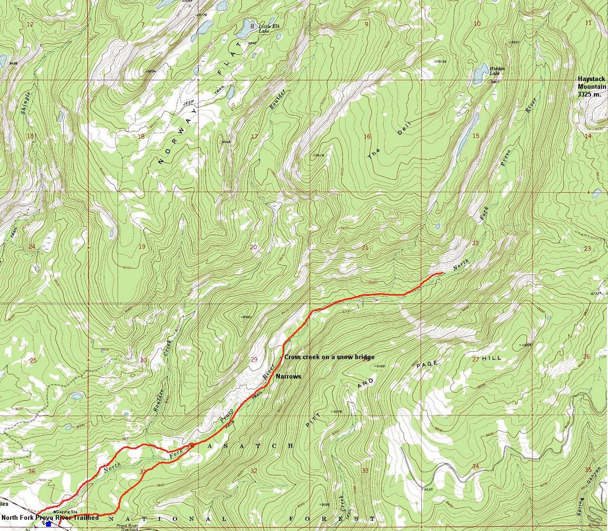 Cross Country Skiing In The Beaver Creek Area - Beaver creek ski trail map