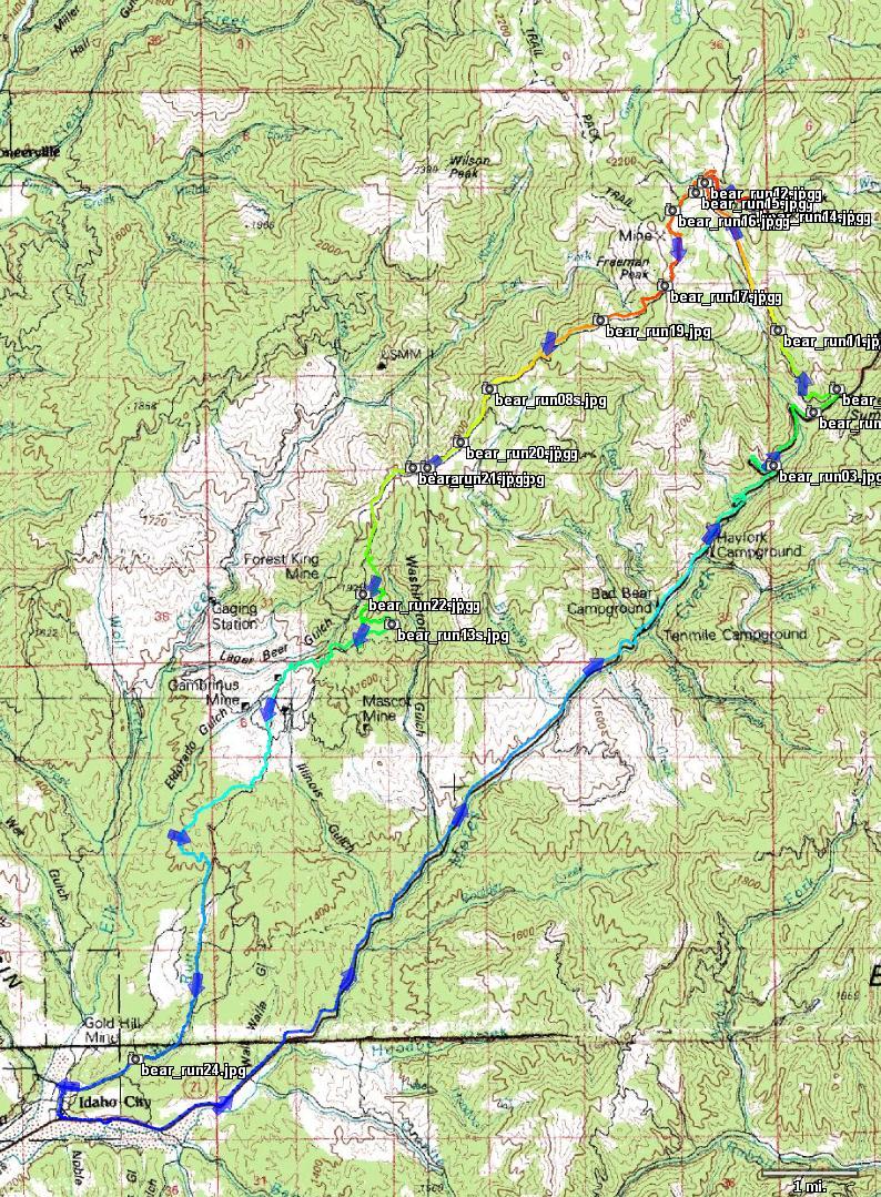 Idaho City - Pilot Peak and back